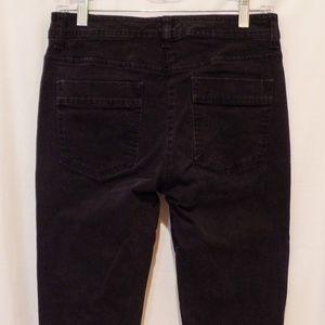 Chico's Platinum Black Boot Cut Jeans
